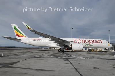 2020-02-12 ET-AVE AIrbus A350-900 EThiopian Airlines