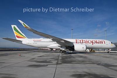2020-02-15 ET-AWO Airbus A350-900 Ethiopian AIrlines