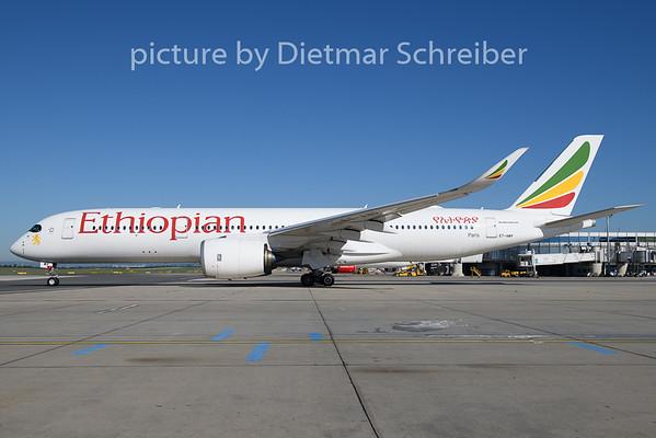 2020-07-01 ET-AWP Airbus A350-900 Ethiopian Airlines