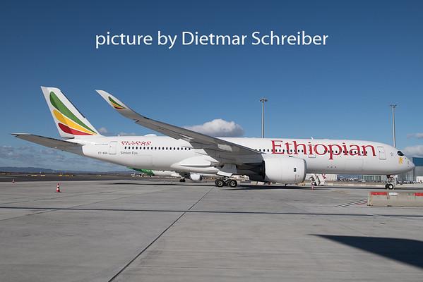2020-02-18 ET-AUA Airbus A350-900 Ethiopian Airlines