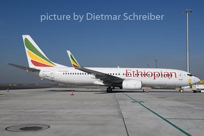 2020-03-19 ET-ASJ Boeing 737-800 Ethiopian AIrlines