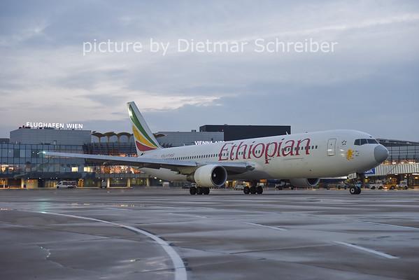 2014-12-08 ET-AMF Boeing 767-300 Ethiopian