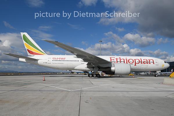 2020-02-27 ET-ANQ Boeing 777-200 Ethiopian AIrlines