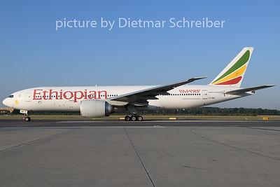 2019-07-24 ET-ANQ Boeing 777-200 Ethiopian Airlines