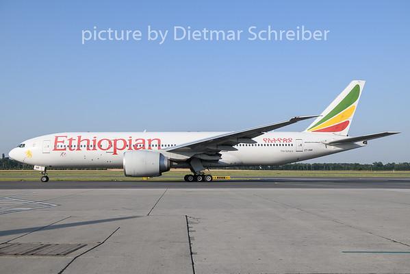 2019-06-27 ET-ANR Boeing 777-200 Ethiopian Airlines
