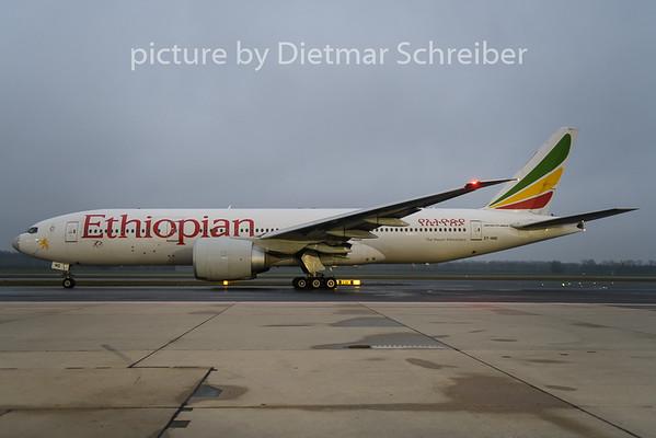 2018-111-23 ET-ANQ Boeing 777-200 Ethiopian Airlines