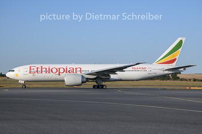 2019-08-12 ET-AQL Boeing 777-200 Ethiopian AIrlines