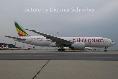 2019-04-11 ET-ANO Boeing 777-200 Ethiopian AIrlines