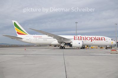 2020-02-25 ET-AXL Boeing 787-9 Ethipian AIrlines