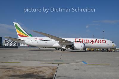 2018-10-26 ET-AUR Boeing 787-9 Ethiopian AIrlines