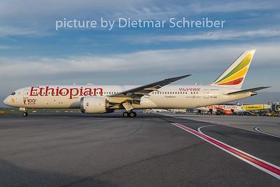 2018-09-13 ET-AUQ Boeing 787-9 Ethiopian Airlines