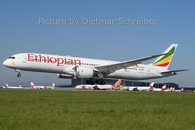 2019-04-22 ET-AUO Boeing 787-9 Ethiopian AIrlines