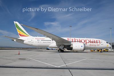 2020-03-16 ET-AOP Boeing 787-8 Ethiopian Airlines