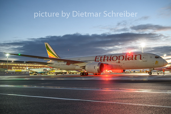 2019-01-04 ET-ATJ Boeing 787-8 Ethiopian AIrlines