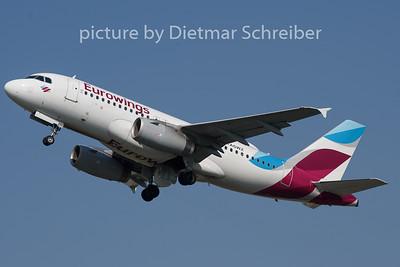 2019-04-15 D-AGWZ Airbus A319 Eurowings