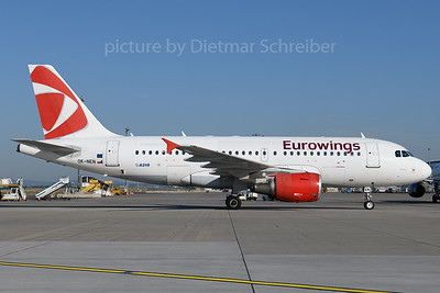 2019-07-25 OK-NEN Airbus A319 EUrowings