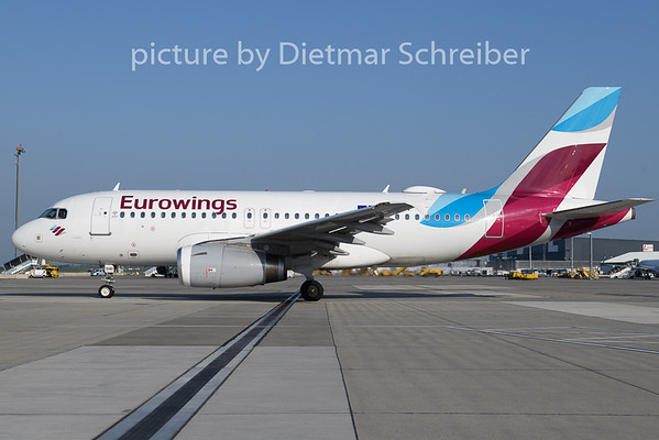 2019-05-01 D-AGWI Airbus A319 Eurowings