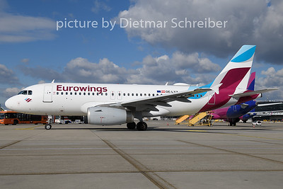 2020-02-27 OE-LYX Airbus A319 Eurowings