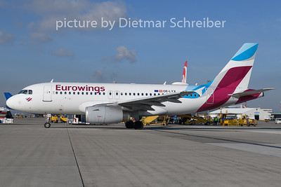 2019-02-05 OE-LYX Airbus A319 Eurowings