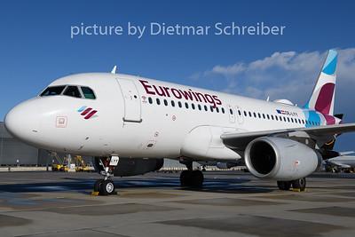 2020-02-10 oE-LYY Airbus A319 Eurowings