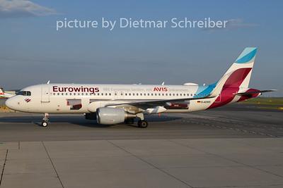 2020-07-23 D-AEWS Airbus A320 Eurowings