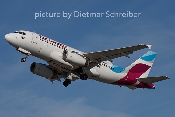 2020-08-28 D-AGWL Airbus A319 Eurowings