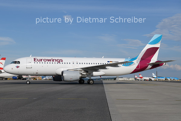 2021-06-27 D-ABZL Airbus A320 Eurowings