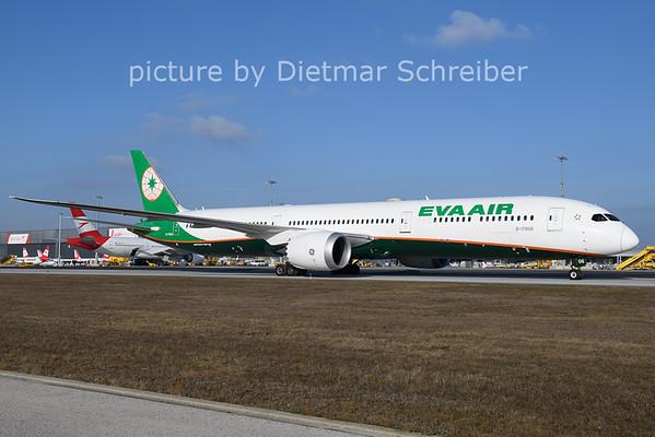 2021-01-11 B-17806 Boeing 787-10 Eva Air