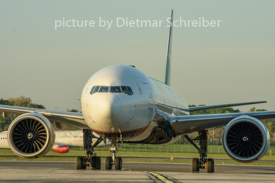 2019-04-22 B-16731 Boeing 777-300 Eva Air