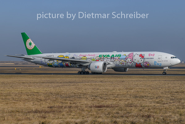 2019-01-21 B-18703 Boeing 777-300 Eva Air