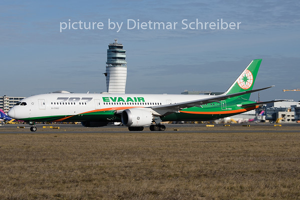 2020-01-06 B-17883 Boeing 787-9 Eva Air