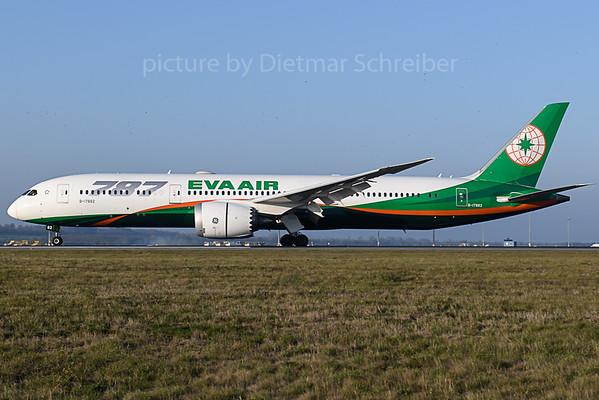 2019-11-01 B-17882 Boeing 787-9 Eva Air