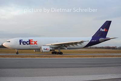 2012-12-05 N724FD Airbus A300-600 Fedex