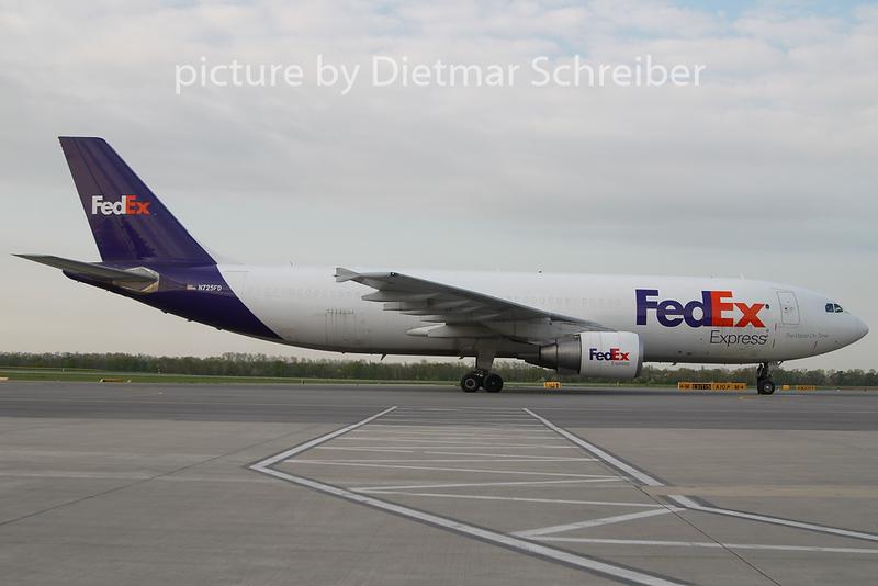 2010-04-22 N725FD Airbus A300-600 Fedex