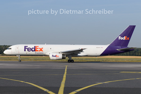 2019-07-16 N920FD Boeing 757-200 Fedex