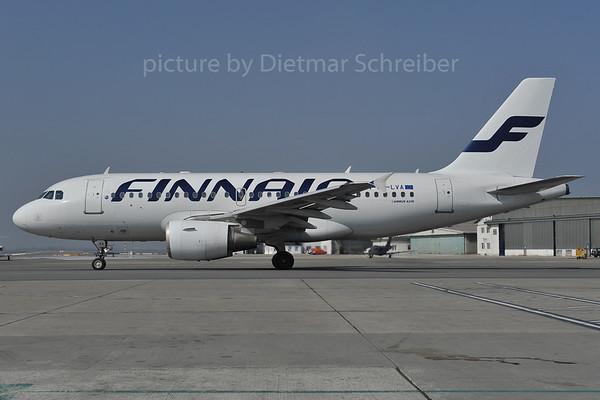 2012-03-22 OH-LVA AIrbus A319 Finnair