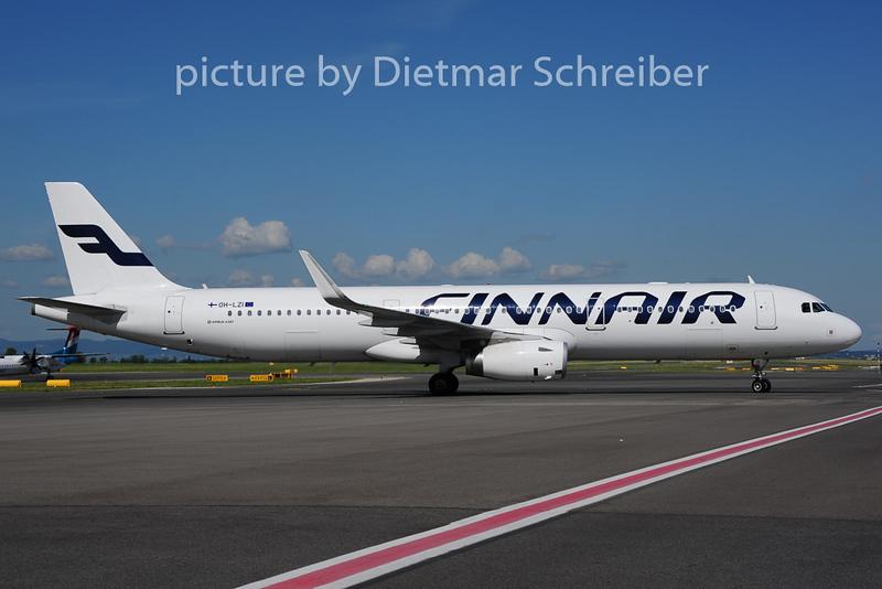 2014-06-16 OH-LZI Airbus A321 Finnair