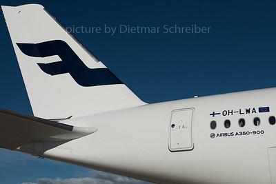 2015-11-18 OH-LWA Airbus A350-900 Finnair