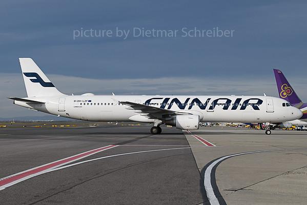 2019-11-19 OH-LZF Airbus A321 Finnair