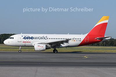 2018-07-09 EC-KHM Airbus A319 Iberia