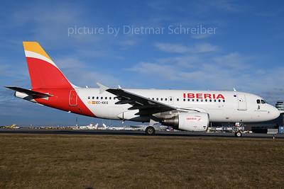 2018-03-12 EC-KKS Airbus A319 Iberia