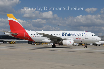 2018-08-16 EC-KHM Airbus A319 Iberia