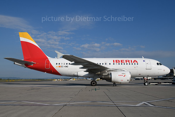 2018-06-26 EC-KMD AIrbus A319 Iberia