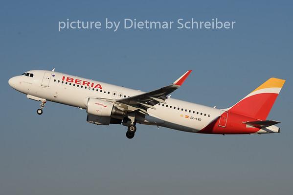 2019-02-05 EC-LVD Airbus A320 Iberia