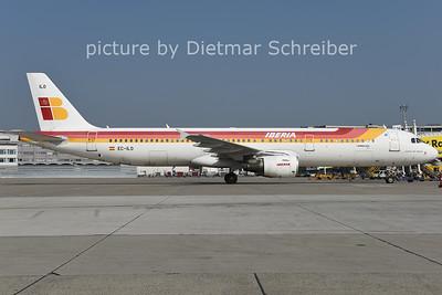 2014-10-06 EC-ILO AIrbus a321 Iberia