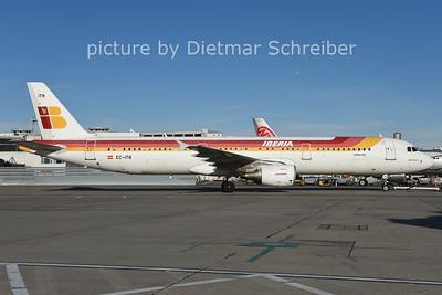2014-12-19 EC-ITN AIrbus A321 Iberia