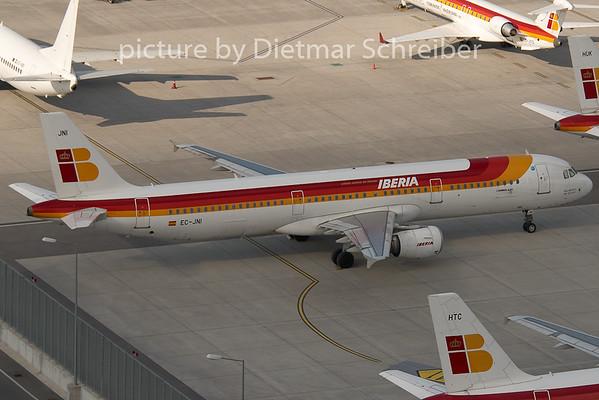 2008-06-29 EC-JNI Airbus A321 Iberia
