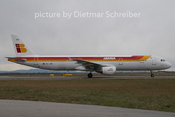 2008-03-26 EC-JRE  Airbus A321 Iberia