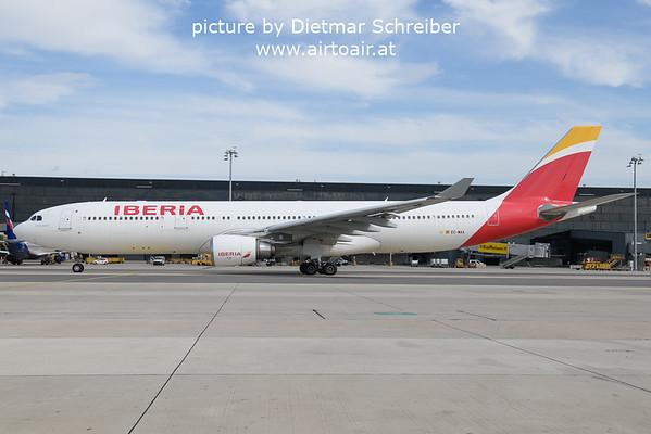 2021-09-16 EC-MAA Airbus A330-300 Iberia
