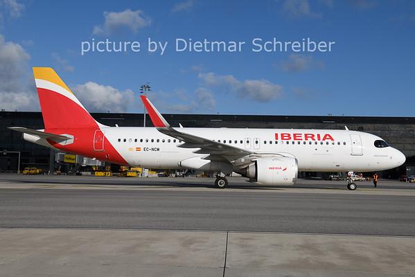 2020-11-20 EC-NCM Airbus A320neo Iberia